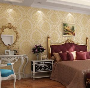High end European style 3D three-dimensional non woven wallpaper wallpaper living room wallpaper wallpaper