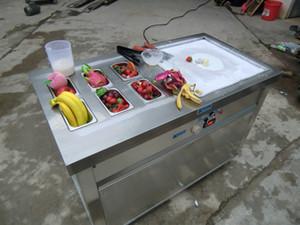 Kolice бесплатная отправка ЭТЛ СЕ США один квадратный кастрюлю с 6 ведра охлаждения обжарить машина мороженого Югурта ролл машина мороженного