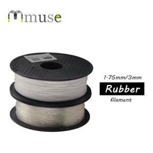 Blanc transparent en caoutchouc TPU 0,8 kg Filament 3D pour FDM imprimantes 3D