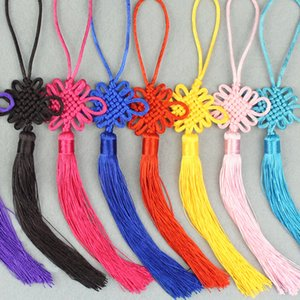 Free shipping Chinese knot Gift box Accessories Decorations Features Present foreigners small gift Can be customized Chinese knot Trumpet pe