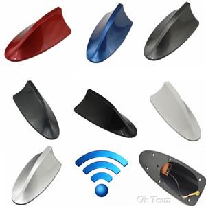 1 pcs Universal Car Auto SUV Telhado Especial Rádio FM Antena de Barbatana de Tubarão Sinal Aéreo Auto Acessórios preto Vermelho Azul Branco 8 cores