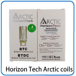 Horizon Tech Arctic atomizador Sub ohm BTC bobina e bobina BTDC 0.2 0.5 1.2ohm bobinas para atomizadores árticos tanques 0202035