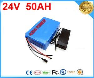 5pcs ebike batterie au lithium 24v 50ah au lithium ion vélo 24v 1000w batterie de scooter électrique pour kit vélo électrique avec chargeur