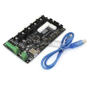 Freeshipping späteste MKS Gen V1.4 Steuerkarte Mega 2560 R3 Hauptplatine RepRap Ramps1.4 kompatibel mit USB und 5PCS TMC2100 3D Drucker