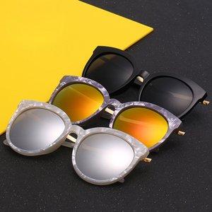 Новый V Марка камень pattern солнцезащитные очки мужчины и женщины общие анти-ультрафиолетовые очки открытый досуг солнцезащитные очки Оптовая 1656
