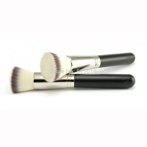 50 flache Kabuki-Pinsel-gebissene Fundamentbürste Top Synthetische Kabuki-Bürsten-Gesichtskosmetik-Make-up-Brush-Werkzeuge