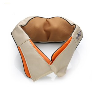 Home And Car Cuscino per massaggio a doppio uso a infrarossi Shiatsu Impastare Collo e spalla Massaggiatore Massager del corpo Massaggiatore elettrico FY-628