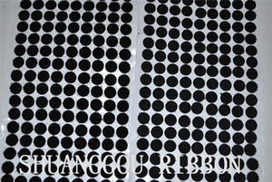 12mm Diameters coins,1000sets , Sticky Backing Fastening Dots. Adhesive round hook and loop H210924