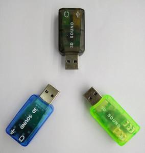 Новые Приходят Звуковая Карта USB Аудио USB 5.1 Внешняя Звуковая Карта USB Аудио Адаптер Микрофон Динамик Аудио Интерфейс Для Портативных ПК Micro Data