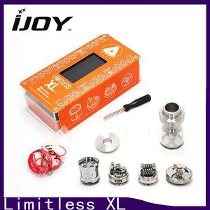 IJOY LIMITLESS XL Réservoir 50W-215W 4ml Réfrigérateur de flux d'air reconstructible Elektronik Sigara Atomizer IJOY LIMITLESS XL 0266102