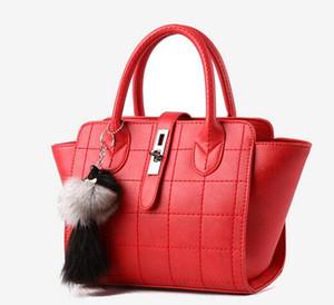 7 bolsos de color 2016 nuevos bolsos de las mujeres Taobao sutura del coche hebilla bolso Messenger