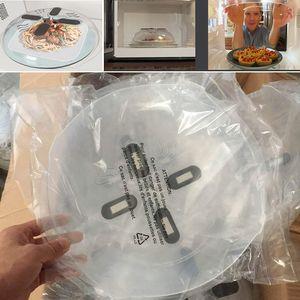 Neueste Mikrowelle Splatter Deckel Lebensmittel Splatter Schutzabdeckung Mikrowelle Schwebeflug Anti-Sputtering Abdeckung Mit Dampföffnungen
