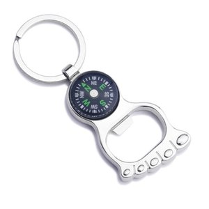 5 Styles 2016 Unique Creative Compass Rudder bottle opener Key Chain, Glossy Alloy Keychain Keyrings Best Gifts