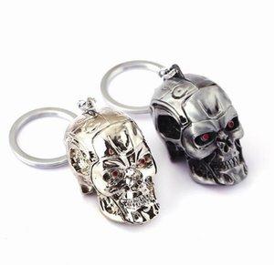 Terminator Keychain Schlüsselring Dreidimensionaler Punk Schlüsselring Coole Schädel Maske Schlüsselketten Zubehör Cosplay