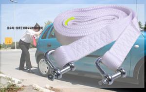 5 M Nylon + acero gancho correa de remolque sintético Winch Rope Car problemas emergencia herramientas auto suministros