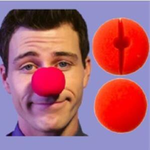 Hot Sale Party Sponge Ball Red Clown Magic Nose For Halloween Party Masquerade Christamas Decors Accessory Decors