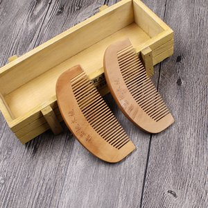 Small wooden comb anti-static portable health care cosmetic comb wholesale health month