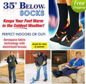 Chaussettes chaudes sox 35 ci-dessous Chaussettes Gardez vos pieds au chaud et au sec Fibres Aluminées Homme Cadeau Enfants