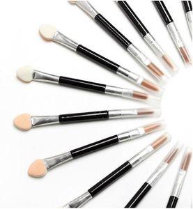 Nova maquiagem escovas descartáveis esponja cosméticos eye shadow delineador lip brush set aplicador para as mulheres beleza
