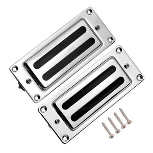 Mini Humbucker Pickups Neck Neck Set per parti di chitarra Rickenbacker Chrome
