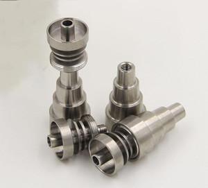 Titanium Nail Universel Universel Mâle et Femelle joint Fit 10mm 14mm verre 18mm bongs pipe à eau