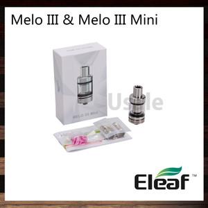Ismoka Eleaf Melo III Zerstäuber Melo III Minitank 4 ml Melo 3 2 ml Melo 3 Minitank oben Füllung versteckter Boden Einstellbarer Luftstrom 100% Original