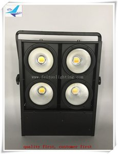 4 Eye 4*100W Warm Cool White 2IN1 COB LED Audience Blinder Stage Light
