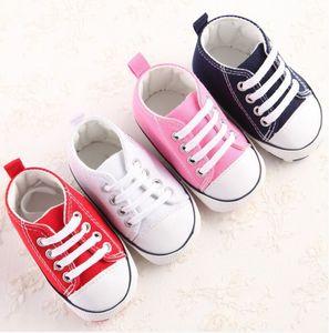 Neugeborenes Baby Erste Wanderer Schuhe Frühling Herbst Jungen Mädchen Kinder Säugling Kleinkind Klassische Sport Turnschuhe Weiche Sohlen Anti-Rutsch-Schuhe
