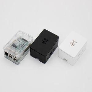 Alta qualità Raspberry Pi 3 Modello B ABS Case Nero / Trasparente / White Box professionale in plastica ABS per Raspberry Pi B +