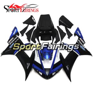 Complete Motorcycle Gloss Black Blue Matt Fairings For Yamaha YZF1000 R1 02 03 2002 2003 Injection ABS Fairings Motorcycle Bodywork Cowlings