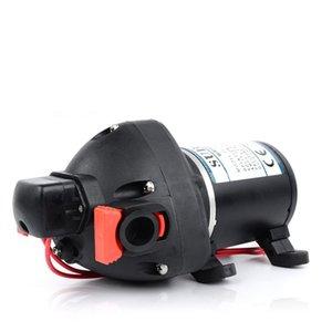 DC Taşınabilir Elektrikli Yat Römork Kullanımı Araba Yıkama Kendinden emişli Diyafram Pompası Fabrika Doğrudan