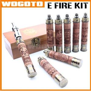 X-Fire E Cig E Feuer Vaporizer Pen Variable Spannung Glas Tank E-Feuer X-Fire Holz Batterie Kit E-Fire Holz Vaporizer mit Protank 2 Zerstäuber