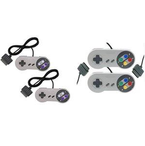10 ключей игровой 16-битный контроллер геймпад Pad джойстик для SFC Super Nintendo SNES System Console Control Pad Оптовая