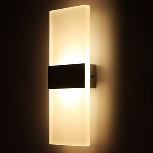Moderna luz de pared led para Cocina Restaurante Sala de estar Dormitorio lámpara de la sala luces de baño led lámparas montadas en la pared de interior