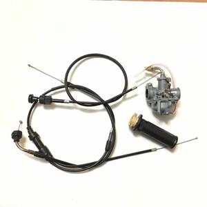 NUEVO PW50 Parte Carburador Estrangulador cables de estrangulación y Acelerador Agarre Yamaha PW50 Loncin Jianshe PY50