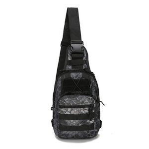 Спорт на открытом воздухе нейлон тактический военный слинг одно плечо груди мешок пакет отдых туризм рюкзак восхождение сумка