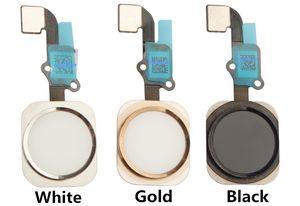 100% nuevo iPhone 5S 6 y iPhone 6 Plus Home Button enu Button con Flex Cable Assembly Replacement Part 1pcs Envío gratis