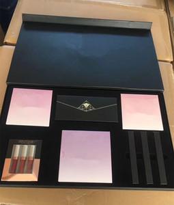 Dernier maquillage Hot Set Highlighter Glow Blush Kit Lipstick Matte Liquide 14Couleurs à paupières Palette Palette Maquillage Full Set