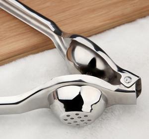 Heißer Edelstahl Zitronenpresse Zitrone Handpresse Stabile Kalkpresse Korrosionsschutzkalk frischer Saft Werkzeuge mit Box 200st