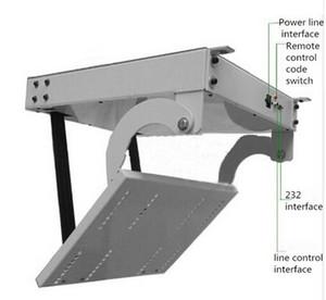 Дистанционный умный 32,42,46,55,60 дюймов 3D ЖК-телевизор потолок лифт вешалка подлинной Тернер