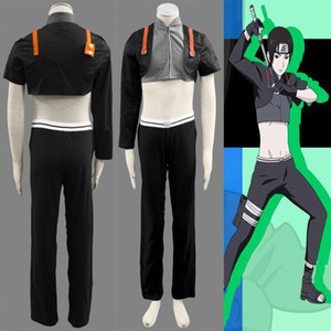 HOT Popular Japanese Anime Naruto Sai Clothing Cosplay Costume Mens Suit Halloween Outfit Adult Size XS-3XL