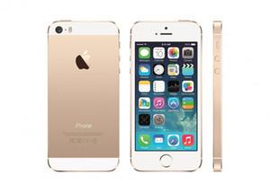 Yenilenmiş iPhone 5 S 100% Orijinal Apple iPhone Dokunmatik KIMLIK ile Unlocked Smartphone 16G IOS Çift Çekirdekli 4.0 inç LTE DHL ücretsiz