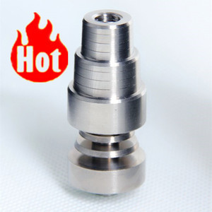 (wholesale best price) grade 2 4 in 1 domeless titanium nail 14 18mm male and female hot selling