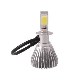 A prueba de agua Plug and play Aluminio H3 COB LED Faros Kit 30W 3000LM Bombillas de niebla DRL 6000K Blanco Auto lámpara de conducción de niebla
