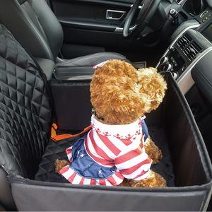 Köpek Oto Koltuğu Kapağı 2 in 1 Ön Emniyet Kemeri ile Koruyucu Kaymaz Koltuk Araç SUV Araç Kamyon Van içinde Fit Kapakları