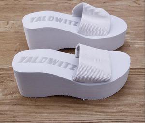 Toptanperakende El Yapımı yaz kadın sandalet terlik 2019 hafif ve rahat kadın ayakkabı Platformu kadın takozlar sandalet rahat terlik