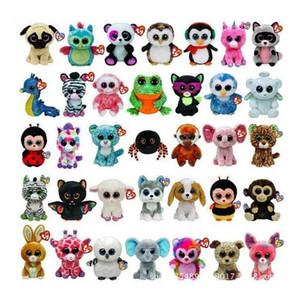Ty Beanie Boos peluche peluche Big Eyes all'ingrosso degli animali delle bambole molli per i bambini regali di compleanno
