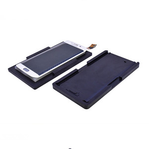 Newest Aluminum Mobile Phone LCD Screen Separator Molds S6 S6 edge Curve Screen Laminating Moulds