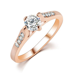 High End Luxury Fine Jewelry Accessories Unique Design Zircon Round Bubble Engagement Fingers Annulus Charm Wedding Bands Rings For Lover