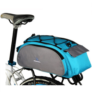 Roswheel 13L Bisiklet Çantası Açık Spor Seyahat MTB Dağ Yol Bisikleti Çantası Bisiklet Geri Raf Trunk Panniers Bagaj Çantası